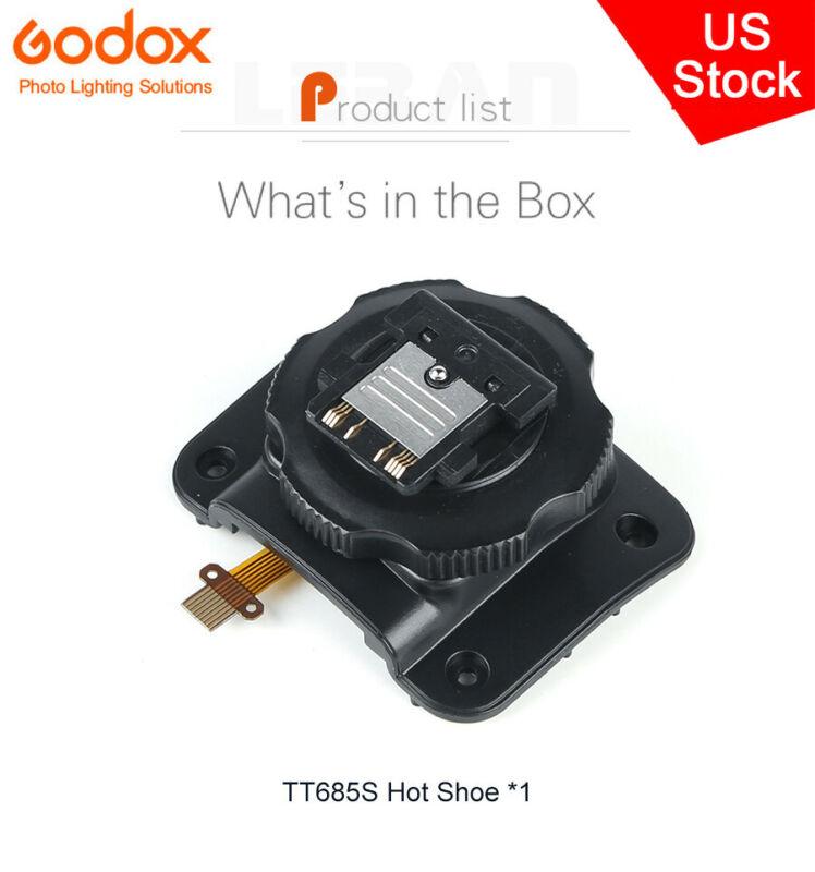 US Godox TT685 Speedlite Flash Hot Shoe Mounting Foot for TT685S Repair Part