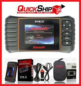 PORSCHE DIAGNOSTIC SCANNER TOOL SRS ABS CHECK ENGINE AIRBAG CODE READER SCAN