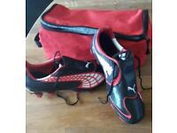 Puma football boots size 6