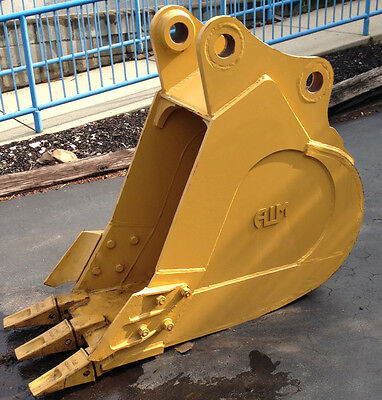 New 24 Heavy Duty Excavator Bucket For A Caterpillar 320 W Coupler Pins