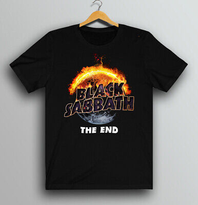 Black Sabbath The End Tour Logo T-shirt New Shirt All size S-5XL