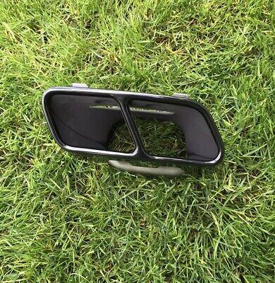 Original Mercedes Amg Auspuffblende Rechts Schwarz A1764900427014617. A Cla Gla