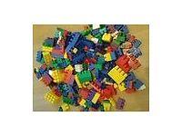Large lego-type building bricks