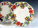 """Huge Set of Steubenville """"Harvest"""" dishes in Excellent Condition"""