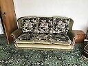 Three Piece Suite & Dining Table & 6 Chairs