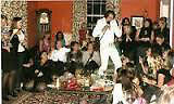 Have an authentic Elvis Tribute Artist entertain your guests!