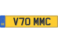 CHERISHED PRIVATE NUMBER PLATE FOR SALE V70 MMC