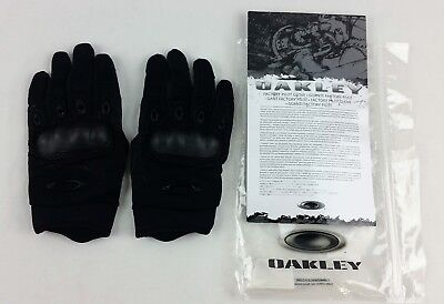 Oakley SI Leather Gloves Black Small Part # 94025-001, New