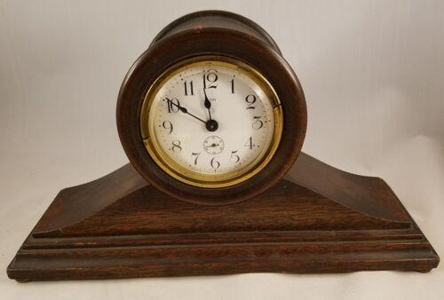 Ansonia 8-day Clock w Built in Key