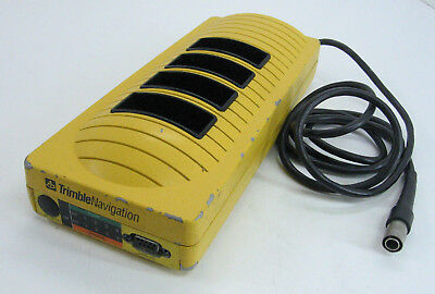 Trimble Navigation 20669-50 4 Slot Battery Charger With Cable For Surveying