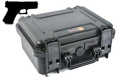 EL1105 Pistol Hand Gun hard Case for Beretta Ruger Smith & W