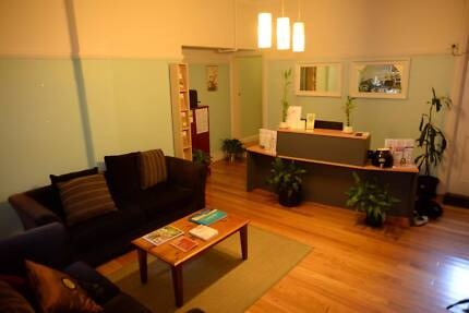 Professional practitioner treatment rooms