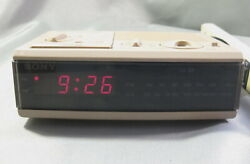 Sony Dream Machine FM/AM Digital Alarm Clock Radio ICF-C3W - Works