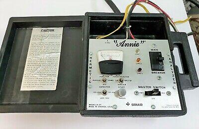 Vintage Annie A-20 Multi-phase Hermetic Unit Analyzer Hvac Refrigeration