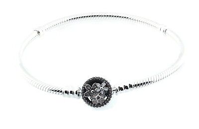 PANDORA Poetic Blooms Bracelet, Mixed Enamels & Clear CZ 590744CZ-16 cm 6.3 in