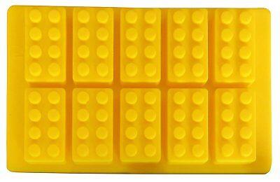 Silicone Building Brick and Mini Figure Robot Candy Jello Soap Crayon Mold - Lego Silicone Mold