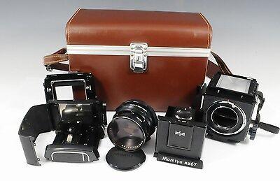 Пленочные фотокамеры Excellent+++ Mamiya RB67 MAMIYA-SEKOR