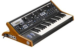 MOOG little phatty Stage II analogue synth w/ custom wood sides
