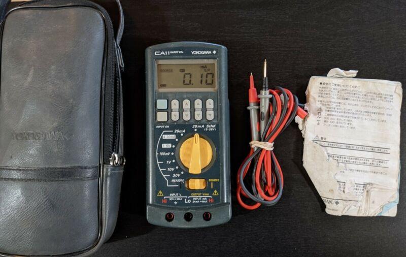Yokogawa CA11 Handy Cal 710 Portable Handheld DC Voltage/Current Calibrator