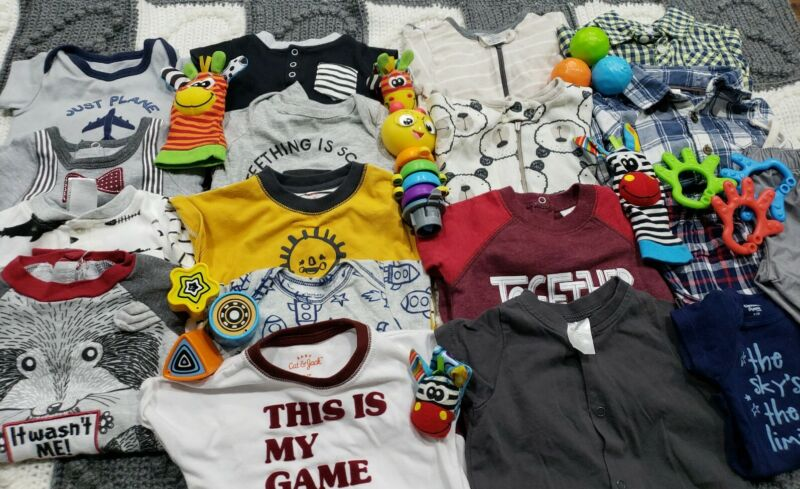 Baby Boy Clothes 0-3,3  Months Huge Lot 😍👶🥰