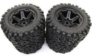 1/10 BRUSHLESS E-REVO 2.0 VXL TIRES (17mm WHEELS tyres Talon EXT Traxxas 86086-4