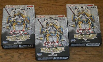 Yu-Gi-Oh! Wave of Light 3x Structure Deck Deutsch 1. Auflage Neu & OVP