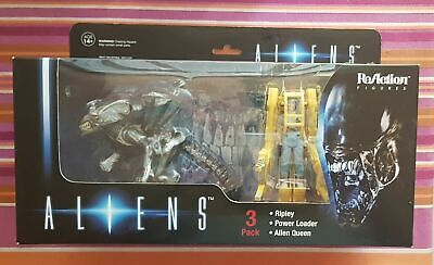 Aliens ReAction 3 3/4-inch Retro Action Figure 3-Pack reaction re-action NEW NEW