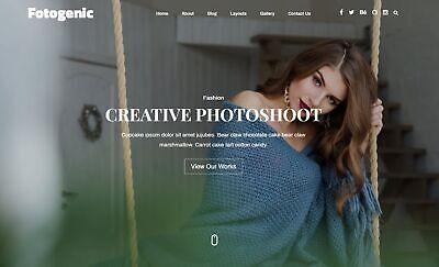 Established Wordpress Premium Photography Website Theme