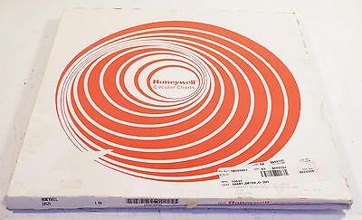 100 NEW HONEYWELL 10521 CIRCULAR RECORDER CHART PAPER