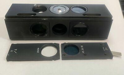 Zeiss Microscope 446342 45370 453686 Reflector Slider Hddic Lambda Axioskop