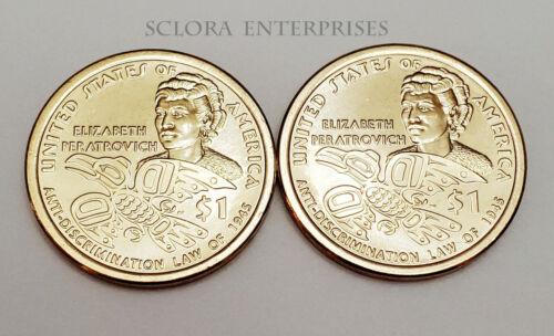 2020 P & D Sacagawea Dollar Set (2 Coins) *BU - UNCIRCULTAED*  **FREE SHIPPING**