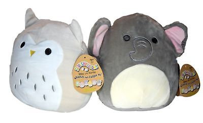 Stuffed Rattle - Squishmallows Baby Stuffed Animal Toy with Rattle 2 PACK -8 Inch Emma the Bab...