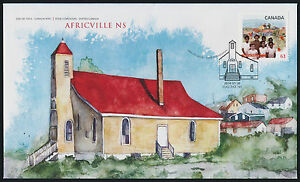 Canada-2702-on-FDC-Black-History-Africville