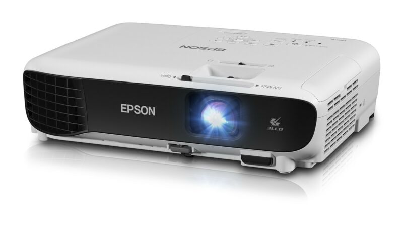 Epson EX3260 SVGA 3LCD Portable Projector 3,300 Lumen - White - [LN]™