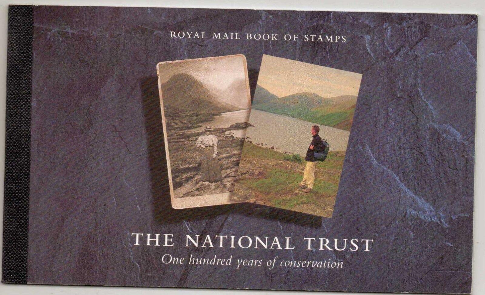 GB SGDX17 1995 NATIONAL TRUST  BOOKLET MNH