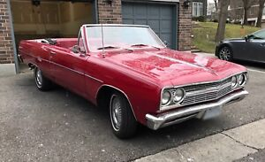 1965 Chevelle Malibu Convertible - PRICE DROP