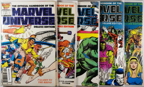 Marvel Universe Deluxe Edition #1(3 copies),2-6,8-10,12-19 - Lot of 19 FN-VF