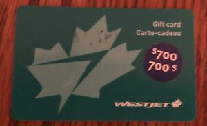West Jet Gift Card
