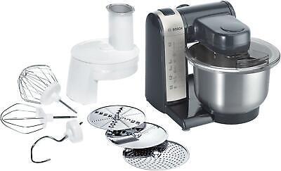 Bosch MUM48A1 Küchenmaschine, 600 W, MultiMotion Drive, anthrazit