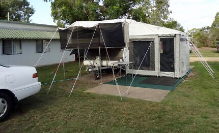 Jayco Swift 2012 with fully enclosed Annex