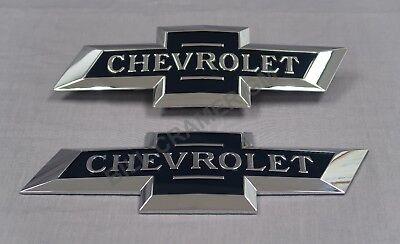 2016-19 Chevrolet Colorado Silverado 1500 OEM Heritage Bowtie Emblems NEW