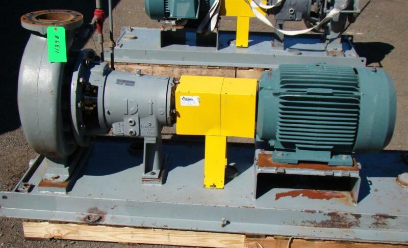 Flowserve 50HP 8x6x13 Centrifugal Pump HOC3+