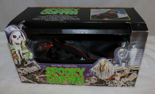 Battery Operated Spooky Coffin