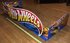 Hot Wheels large store display sign