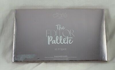 Ciate London The Editor Palette ST TROPEZ 18 Piece Eyeshadow Palette NEW IN BOX