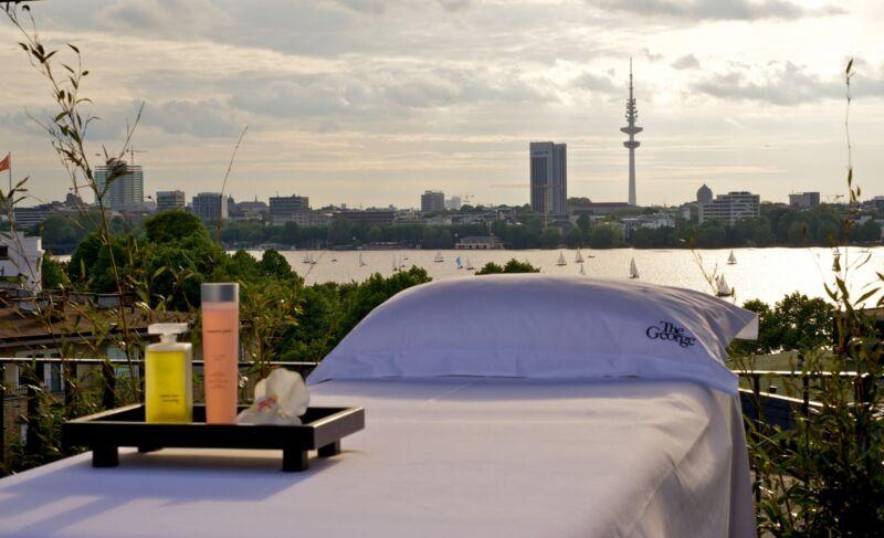Atemberaubend: der Blick auf Hamburg