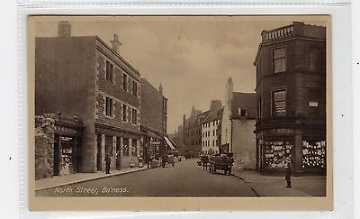 NORTH STREET, BO'NESS: West Lothian postcard (C26707)