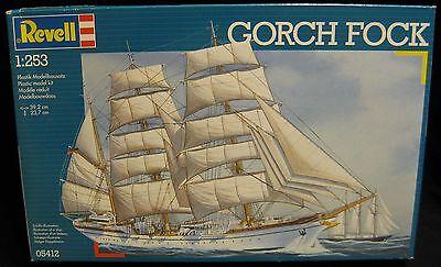 Revell ~ Germany Gorch Fock ~ Model Kit 05412 ~ NISB