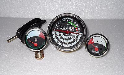 John Deere Tractor Tachometer Temperature Fuel Gauge Set 1010 2010
