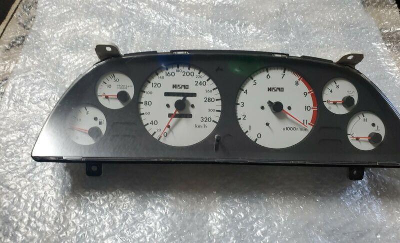 Nissan Skyline R32 GTR Nismo JDM Speedometer Cluster White Face *UltraRARE* 57K